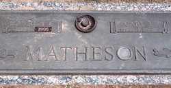 Harriet Hattie Evaline <I>Murray</I> Matheson