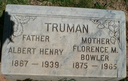 Albert Henry Truman