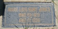 Mary Lois <I>Truman</I> Jones