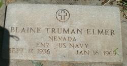 Blaine Truman Elmer