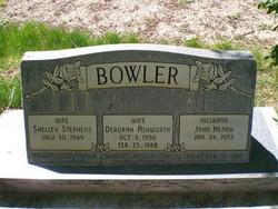 Deborah <I>Ashworth</I> Bowler