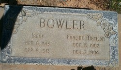 Evaline Matilda Bowler