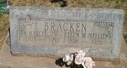 """Ellen Matilda """"Nellie"""" <I>Bowler</I> Bracken"""