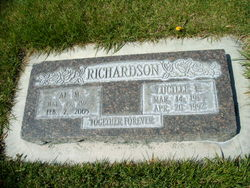 Lucille F. <I>Jones</I> Richardson