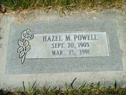 Hazel Margaret <I>Satterthwaite</I> Powell