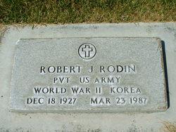 Robert Joseph Rodin