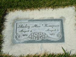 Shirley Mae <I>Steadman</I> Thompson