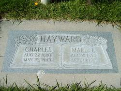 Marie Lillian <I>Schneider</I> Hayward