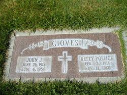 Betty <I>Pollick</I> Gioves