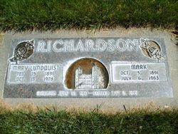 Mary <I>Lundquist</I> Richardson