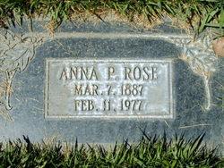 Anna M. <I>Pearson</I> Rose