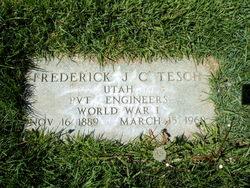 Frederick J. C. Tesch