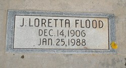 Julia Loretta <I>Clarke</I> Flood