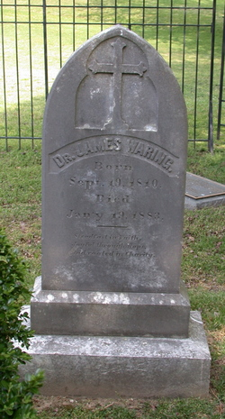Dr James E. Waring