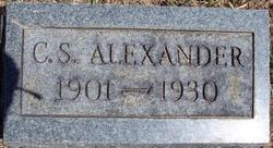 "Chester Sherman ""C.S."" Alexander"