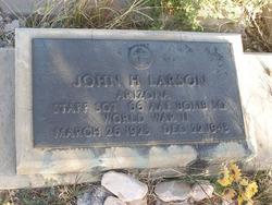 SSGT John H Larson