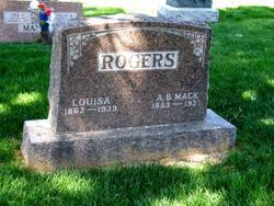 """Aaron Benjamin """"Mack"""" Rogers"""