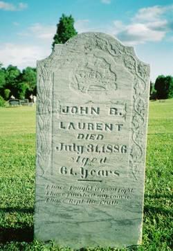 """Jean Baptiste """"John"""" Laurent"""