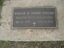 Stella A. <I>Vada</I> Goode
