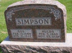 Hulda Amanda Addelhide <I>Rhode</I> Simpson