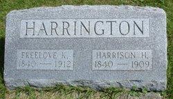 Freelove Kimball <I>Amidon</I> Harrington