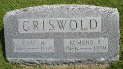 Mary L. <I>Harrington</I> Griswold