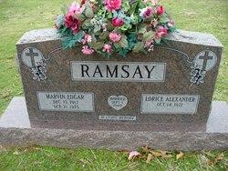 Lorice <I>Alexander</I> Ramsay
