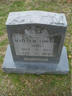 Malcolm Edward Sims