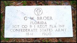 George W Broer