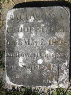 Magdalena <I>Hege</I> Clodfelter