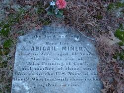 Abigail <I>Miner</I> Fanning