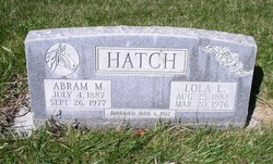 Lola Eva <I>Lindsay</I> Hatch
