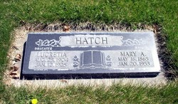Mary Alzina <I>Smith</I> Hatch