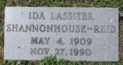 Ida <I>Lassiter</I> Shannonhouse-Reid
