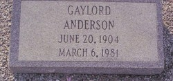 Gaylord Anderson