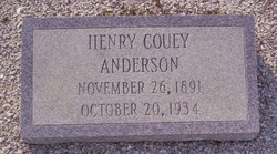 Henry Couey Anderson
