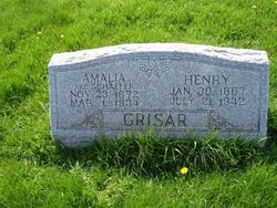 Amalia <I>Schaefer</I> Grisar