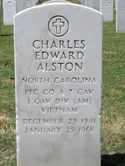 PFC Charles Edward Alston