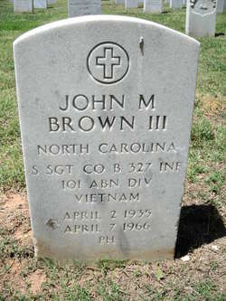 SSGT John Marshall Brown, III