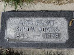 Alta <I>Grant</I> Adams