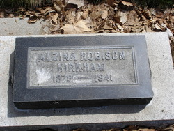 Martha Alzina <I>Robison</I> Kirkham