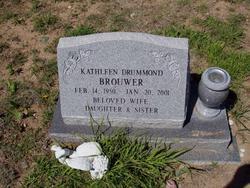 Kathleen <I>Drummond</I> Brouwer