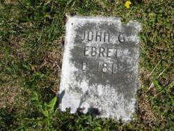 """Johann Georg """"John"""" Ebert"""