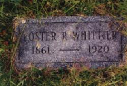 Foster P Whittier
