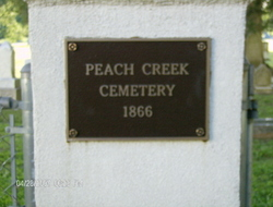 Peach Creek Cemetery