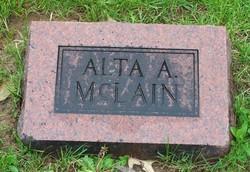 Alta Algerine <I>Moody</I> McLain