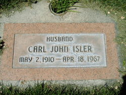 Carl John Isler