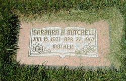 Barbara Geraldine <I>Harris</I> Mitchell