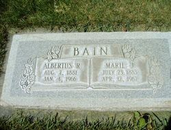 Albertus Robert Bain