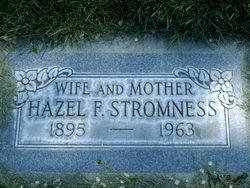 Hazel F. <I>Anderson</I> Stromness